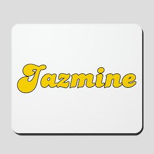 Retro Jazmine (Gold) Mousepad