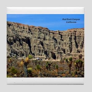 Red Rock Canyon Tile Coaster