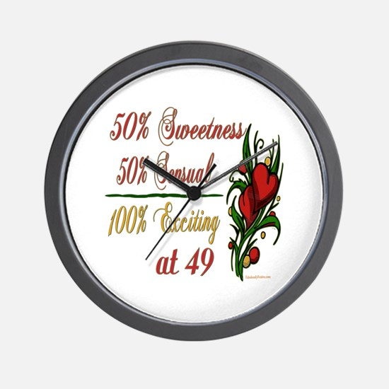 Exciting 49th Wall Clock