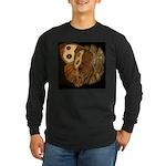 Common Wood Nymph Long Sleeve Dark T-Shirt
