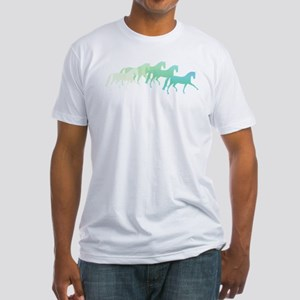 extended trot greens Fitted T-Shirt