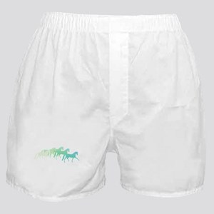 extended trot greens Boxer Shorts