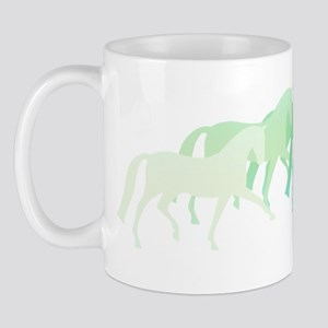 extended trot greens Mug