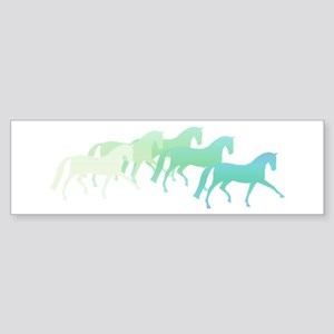 extended trot greens Bumper Sticker