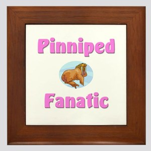 Pinniped Fanatic Framed Tile
