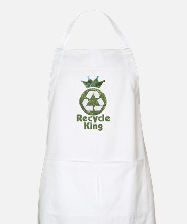 Recycle King BBQ Apron