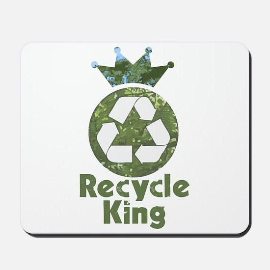 Recycle King Mousepad