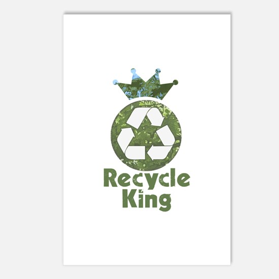Recycle King Postcards (Package of 8)