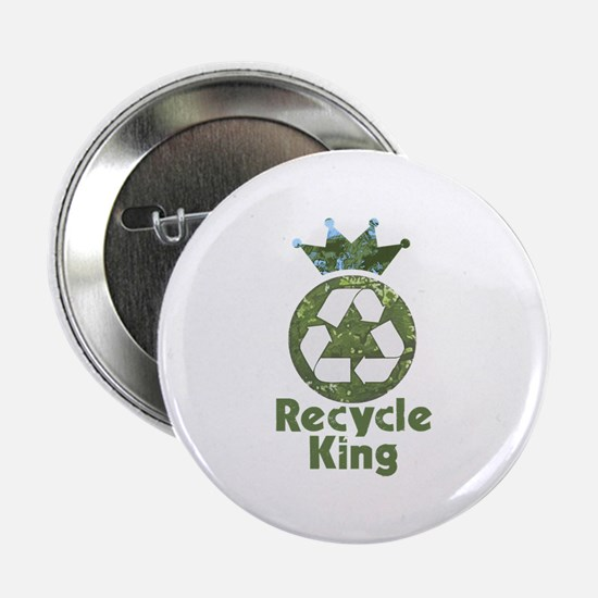 """Recycle King 2.25"""" Button"""
