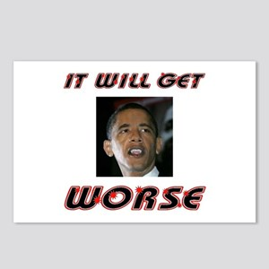 WORSE TO COME Postcards (Package of 8)
