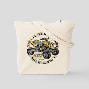Plays in the Dirt ATV Tote Bag