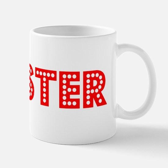 Retro Chester (Red) Mug