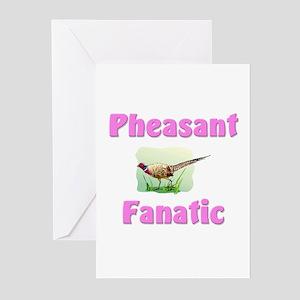 Pheasant Fanatic Greeting Cards (Pk of 10)