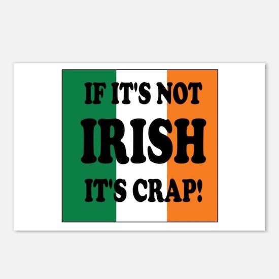 Cute Irish celtic pride Postcards (Package of 8)