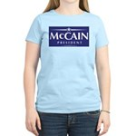 """John McCain 2008"" Women's Pink T-Shirt"