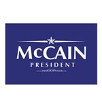 """John McCain 2008"" Postcards (8)"