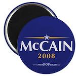 """""""McCain 2008"""" 2.25"""" Magnet (10)"""