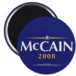 """""""McCain 2008"""" 2.25"""" Magnet (100)"""