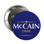 """John McCain 2008"" 2.25"" Button (10"