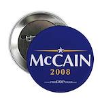 """""""John McCain 2008"""" 2.25"""" Button (10"""