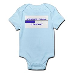 HORMONES LOADING... Infant Bodysuit