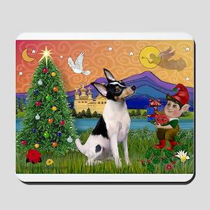 Xmas Fantasy & Toy Fox T Mousepad