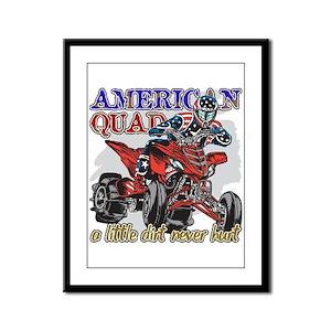 American Quad Framed Panel Print