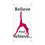 Gymnastics Banner - Believe