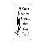 Gymnastics Banner - Stars