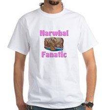 Narwhal Fanatic White T-Shirt