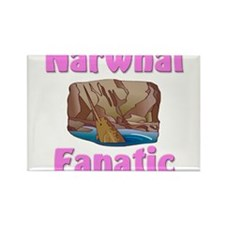 Narwhal Fanatic Rectangle Magnet