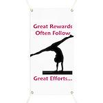 Gymnastics Banner - Rewards