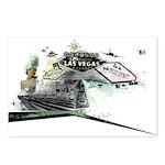 VEGAS Postcards (Package of 8)