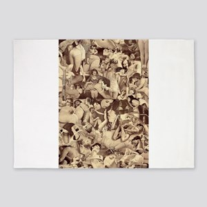 Daddy's Private Porn Movies (Vol. I 5'x7'Area Rug