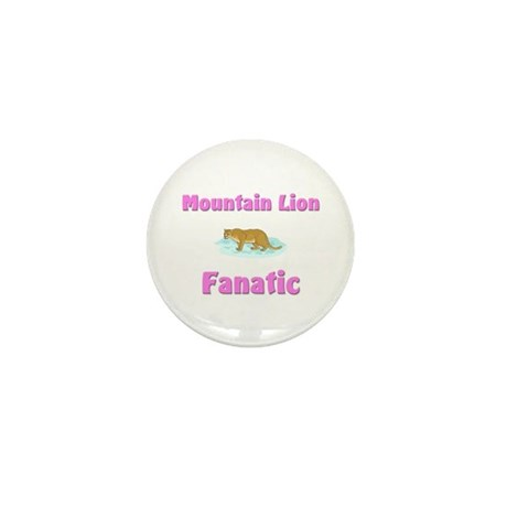 Mountain Lion Fanatic Mini Button