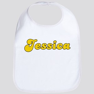 Retro Jessica (Gold) Bib