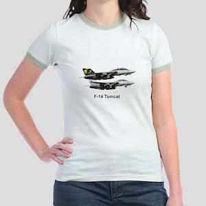USN F-15 Tomcat Jr. Ringer T-Shirt