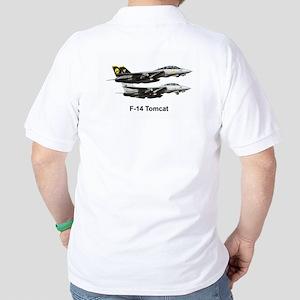 USN F-15 Tomcat Golf Shirt