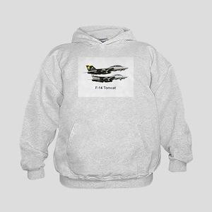 USN F-15 Tomcat Kids Hoodie