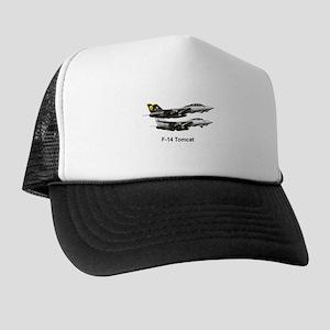 USN F-15 Tomcat Trucker Hat