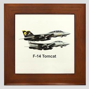 USN F-15 Tomcat Framed Tile