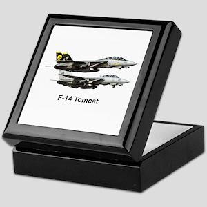 USN F-15 Tomcat Keepsake Box