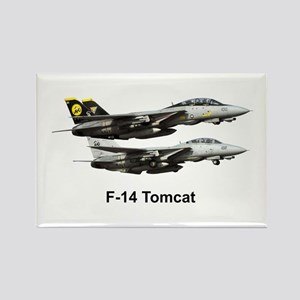 USN F-15 Tomcat Rectangle Magnet