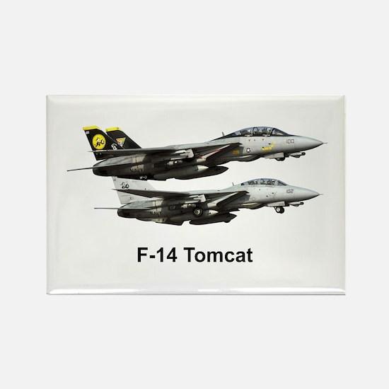 USN F-15 Tomcat Rectangle Magnet
