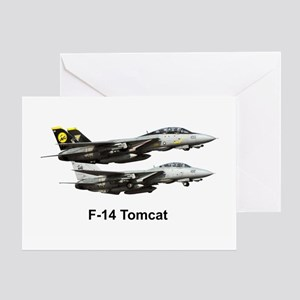 USN F-15 Tomcat Greeting Card