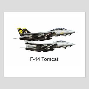 USN F-15 Tomcat Small Poster