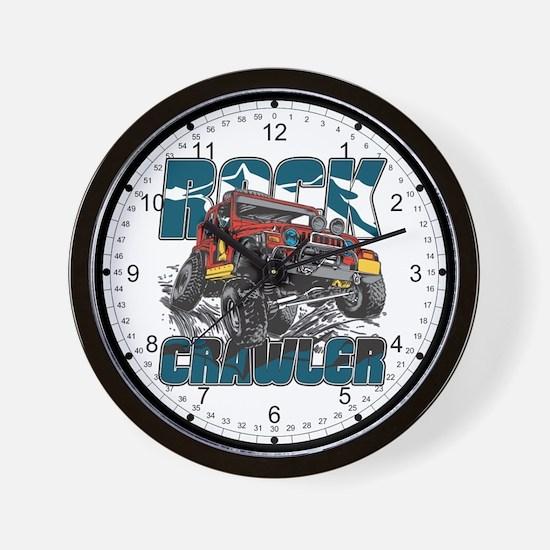 Rock Crawler 4x4 Wall Clock