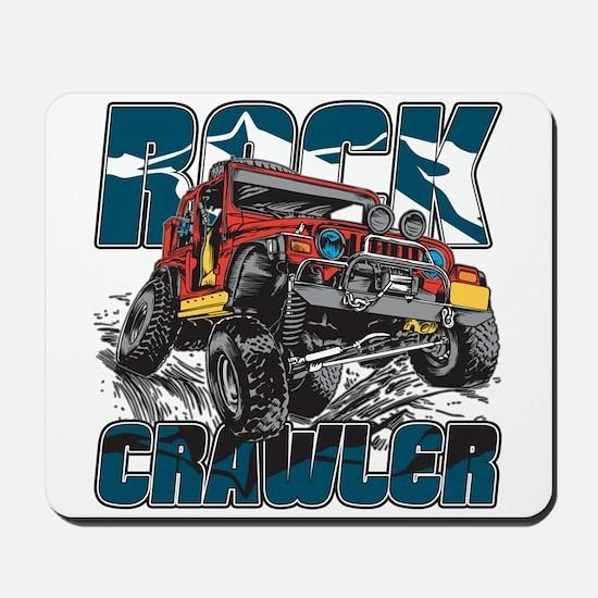 Rock Crawler 4x4 Mousepad