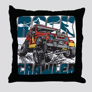 Rock Crawler 4x4 Throw Pillow