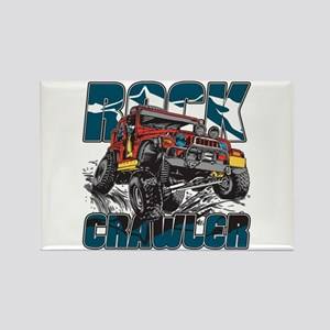 Rock Crawler 4x4 Rectangle Magnet